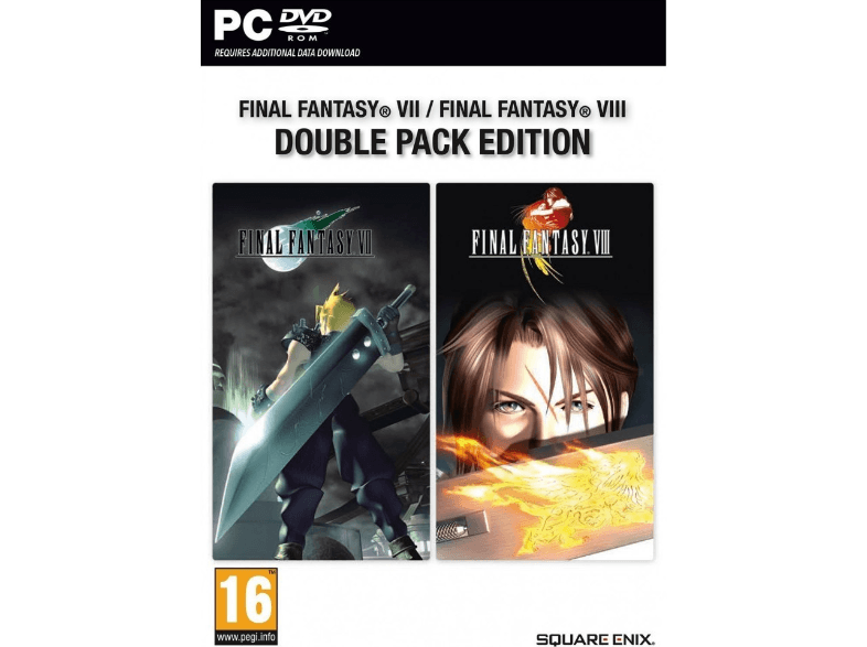 SQUARE ENIX Final Fantasy VII και VIII Double Pack Edition pc games