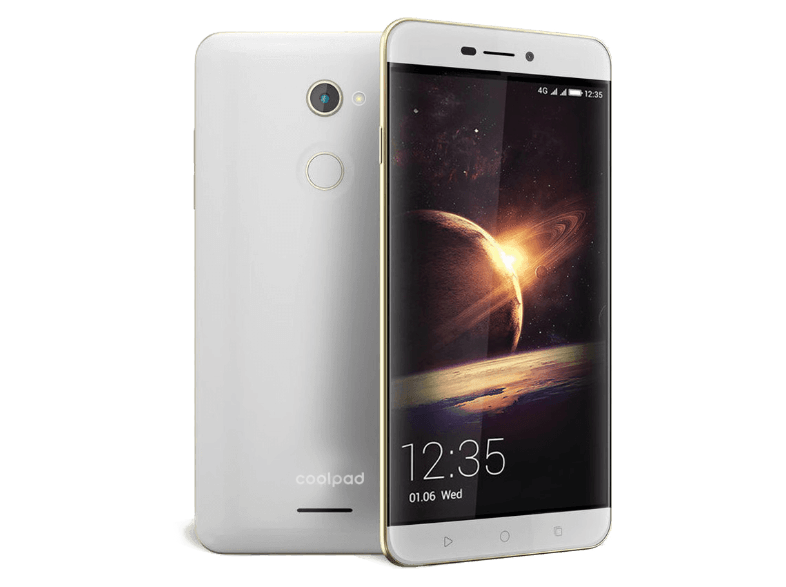 COOLPAD Torino R108 White + Gold Frame - (Y91-U00) android smartphone