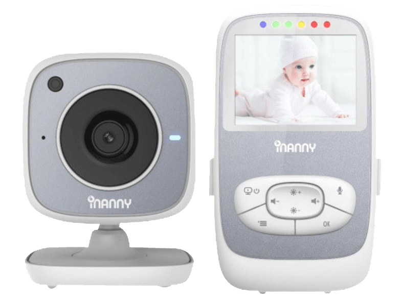 TELCO Baby Monitor με βίντεο (Wifi) iNanny NM288 με οθόνη 2,4