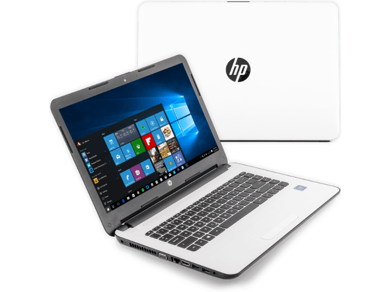 HP Pavilion 14-AM005NV Intel N3060 / 4GB / 500GB White - (X5D30EA) mini laptop