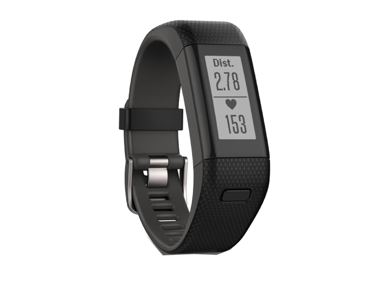 GARMIN Vivosmart HR+ Black XL - (010-01955-51) activity trackers