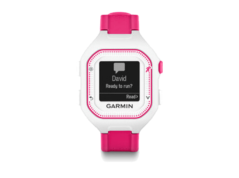 GARMIN Forerunner 25 Small White & Pink - (010-01353-31) activity trackers