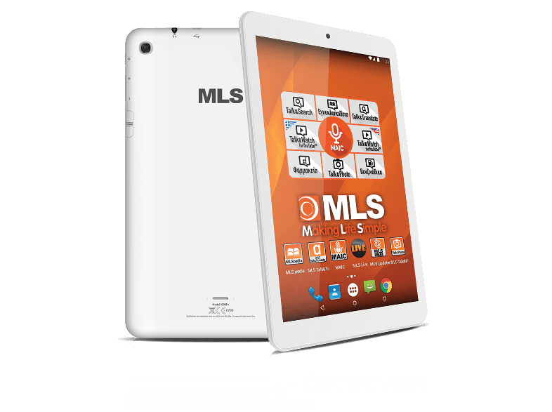 MLS Sky - Quad Core 1.3 GHz / 16GB / WiFi - (33.ML.540.142) android tablet