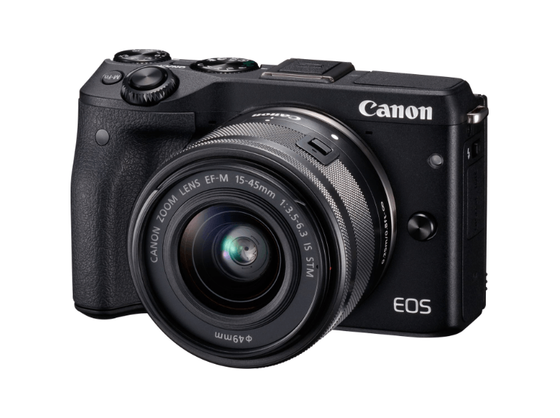 CANON EOS M3 Black m15-45 IS