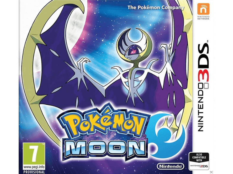 NINTENDO SW Pokemon Moon games 2ds  3ds