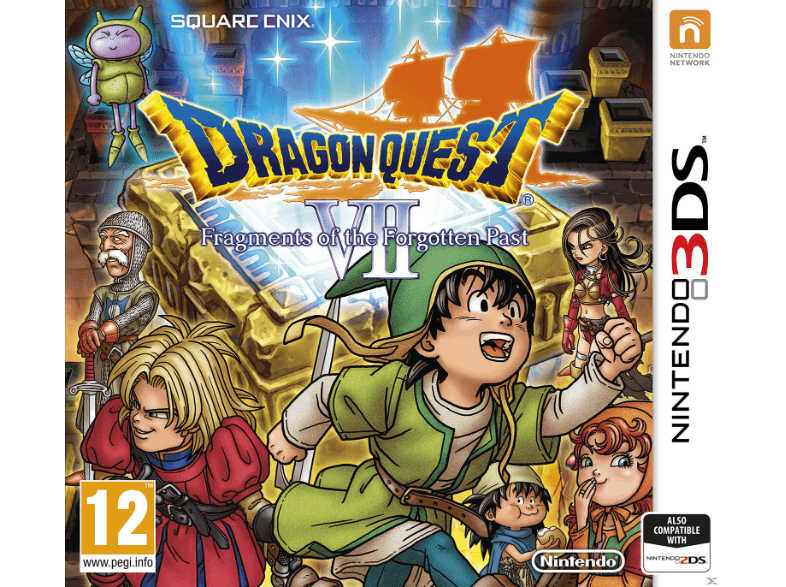 NINTENDO SW Dragon Quest VII: Fragments of the Forgotten Past games 2ds  3ds