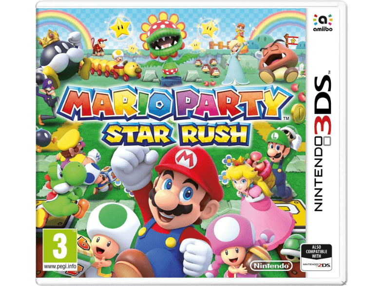NINTENDO SW Mario Party: Star Rush games 2ds  3ds