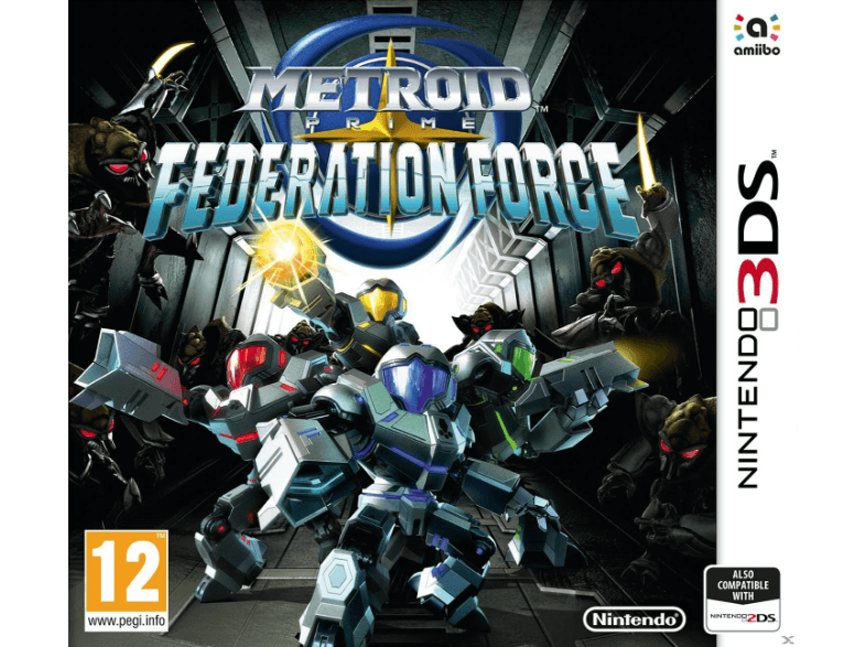 NINTENDO SW Metroid Prime: Federation Force games 2ds  3ds