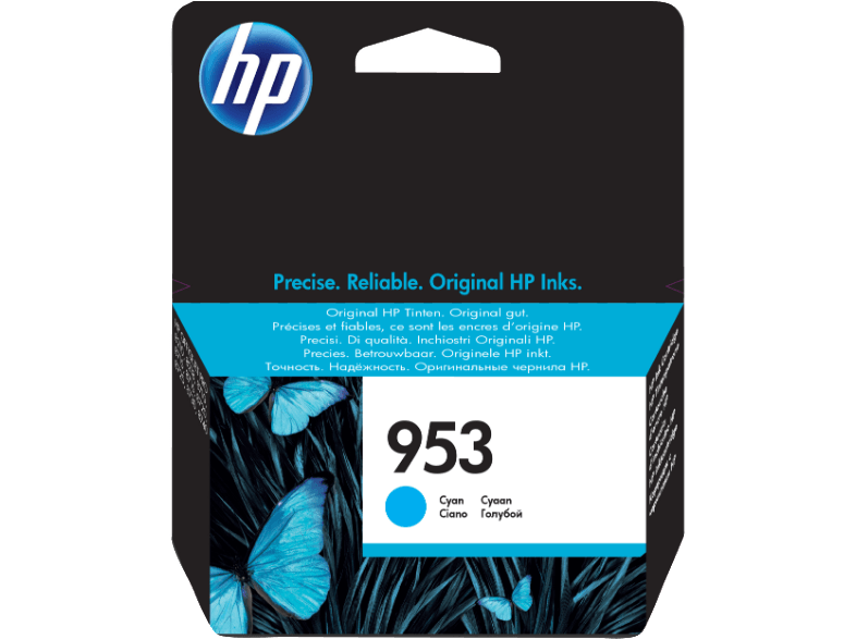 HP 953 Cyan Ink Cartridge - (HPF6U12A) μελάνια  toner