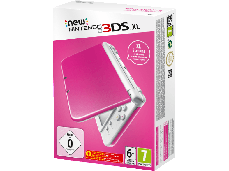 NINTENDO 3DS XL Pink White (New) κονσόλες 2ds  3ds