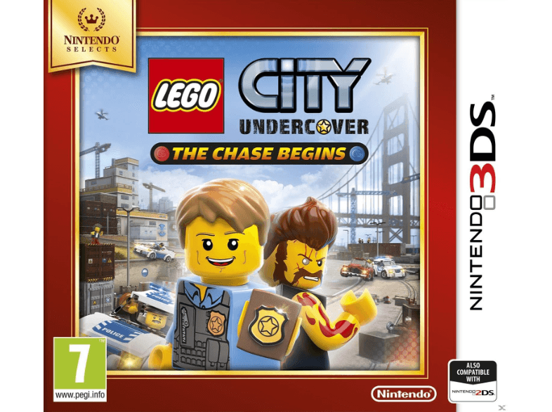 NINTENDO SW Lego City Undrcover The Chase Begins Selects games 2ds  3ds