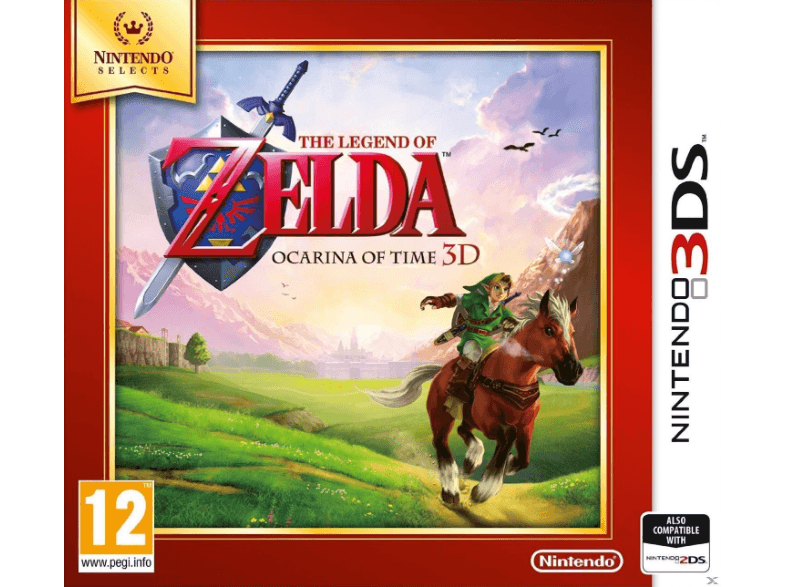 NINTENDO SW The Legend Of Zelda: Ocarina Of Time Selects games 2ds  3ds