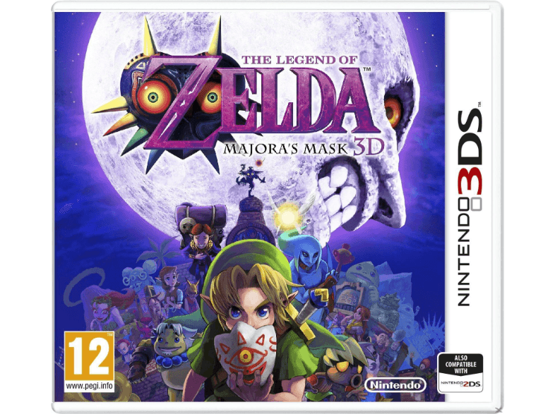 NINTENDO SW The Legend Of Zelda: Majoras Mask games 2ds  3ds