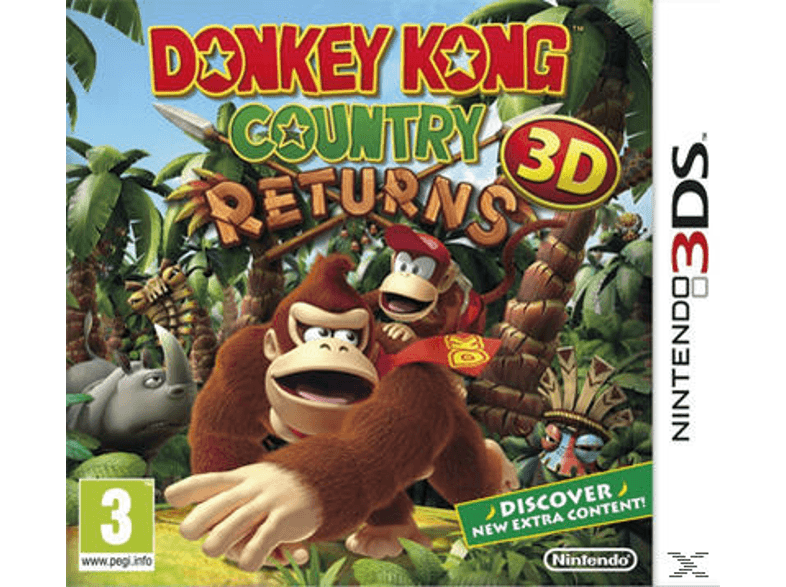 NINTENDO SW Donkey Kong Country Returns games 2ds  3ds
