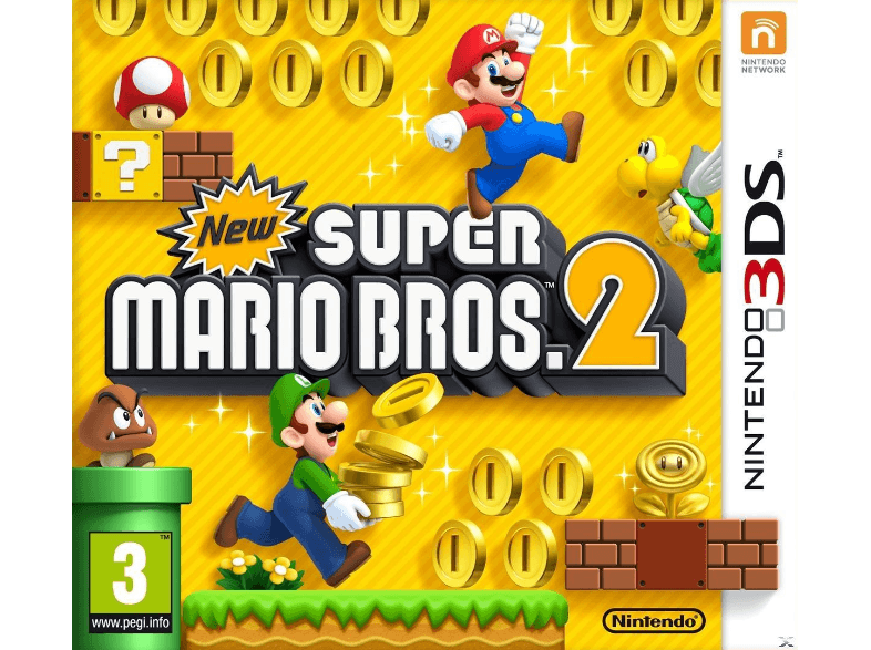 NINTENDO SW New Super Mario Bros 2 games 2ds  3ds