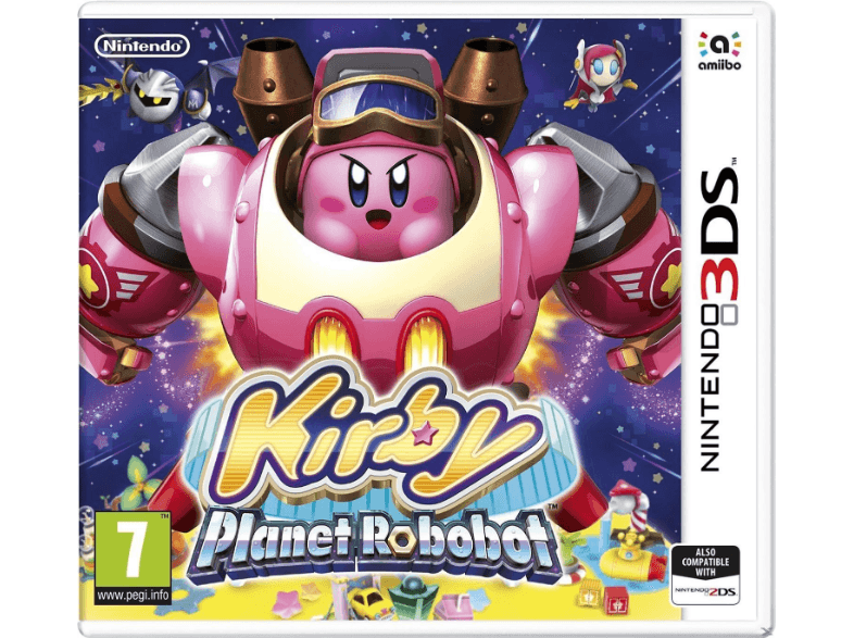 NINTENDO SW Kirby: Planet Robobot games 2ds  3ds