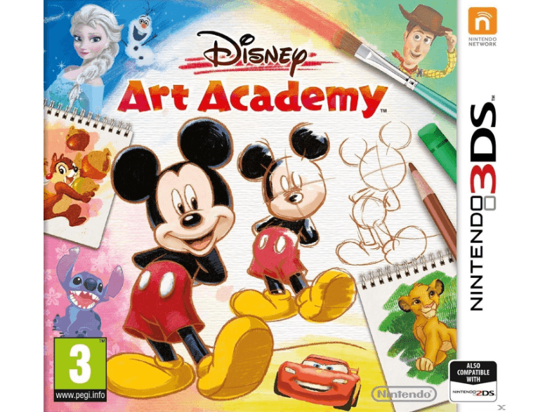 NINTENDO SW Disney Art Academy games 2ds  3ds
