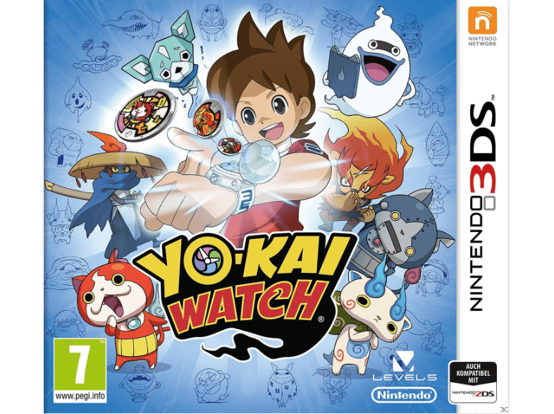 NINTENDO SW Yokai Watch games 2ds  3ds