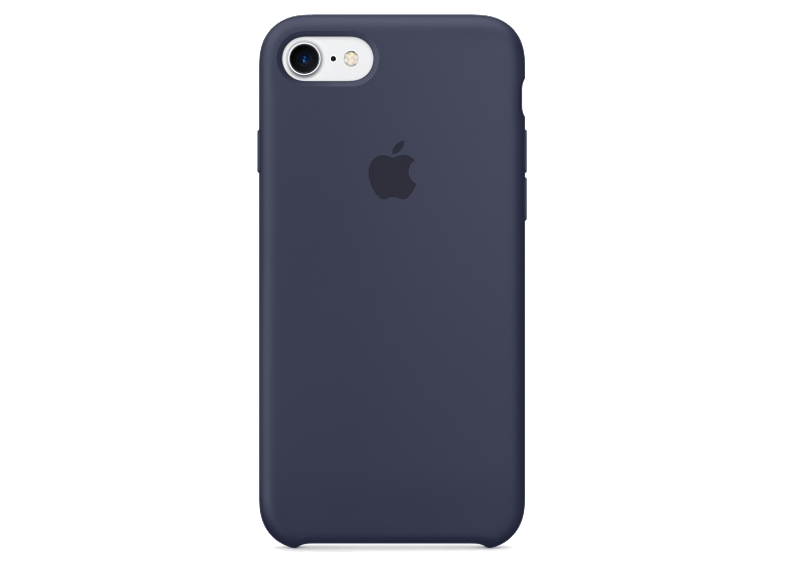 APPLE iPhone 7 Silicone Midnight Blue - (MMQU2ZM/A) θήκες μεμβράνες apple