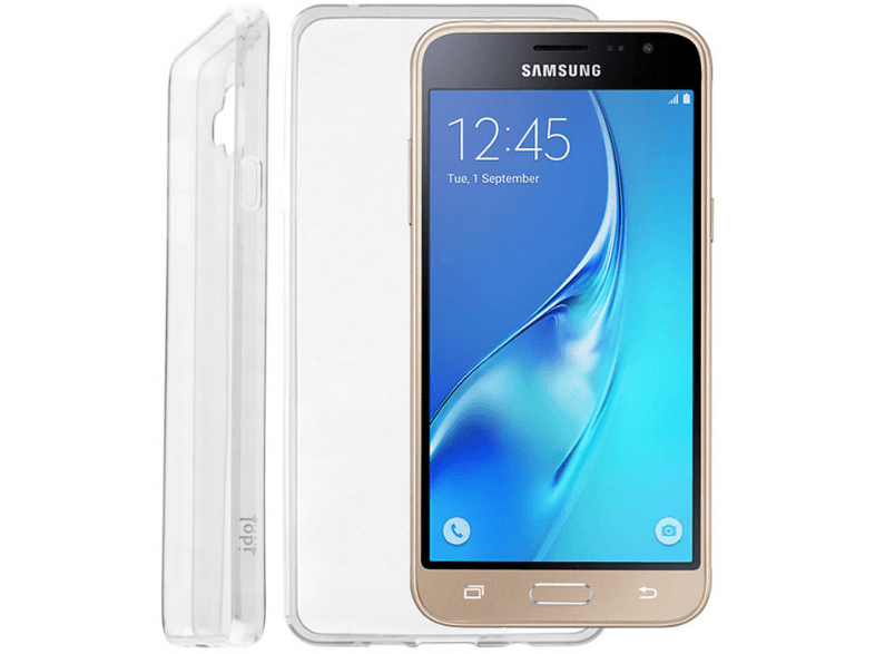 IDOL 1991 Θήκη Samsung Galaxy J3 2016 J320 Ultra Thin Tpu 0.3mm White - (5205308 θήκες  μεμβράνες samsung