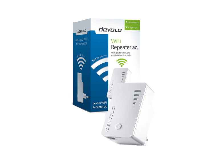 DEVOLO WiFi Repeater AC - (9790) access point  router  range extender  switch