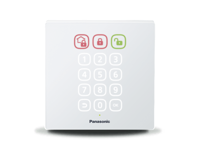 PANASONIC Optional Access Keypad - (KX-HNK101GRW) smart home