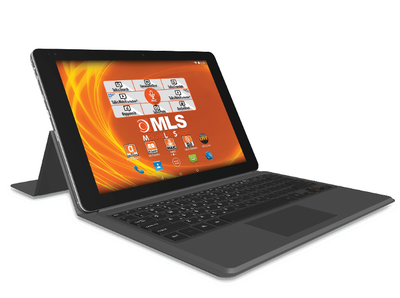 MLS Prime με πληκτρολόγιο - Quad-Core 1.84GHz / 32GB - (33.ML.540.148) android tablet