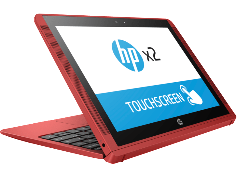 HP X2 - 10-P000NV Quad Core Intel Atom Z8350/2GB/32GB Red - (X9W50EA) mini laptop