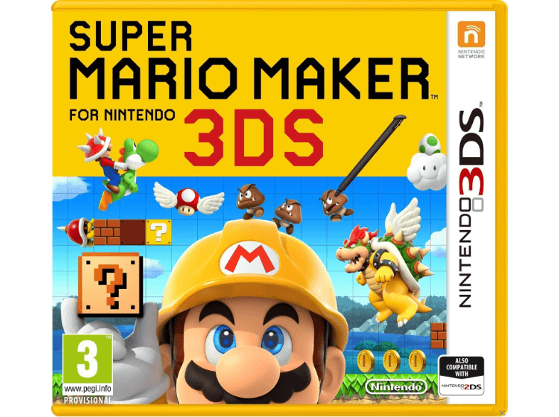 NINTENDO SW Super Mario Maker games 2ds  3ds