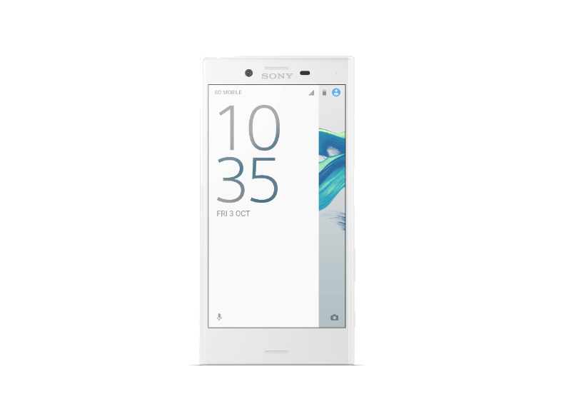 SONY Xperia X Compact White android smartphone