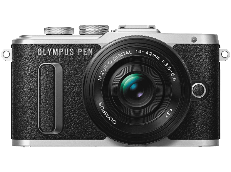 OLYMPUS E-PL8 Pancake Kit EZ-M 14-42mm EZ Brown/Silver - (V205082BE000) mirrorless cameras
