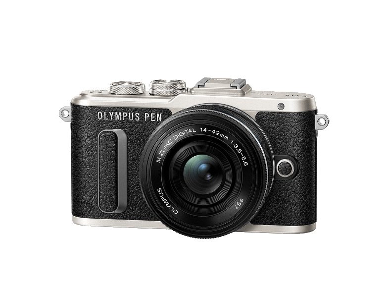 OLYMPUS E-PL8 με φακό ΕΖ 14-42mm Black/Black - (V205082NE000) mirrorless cameras