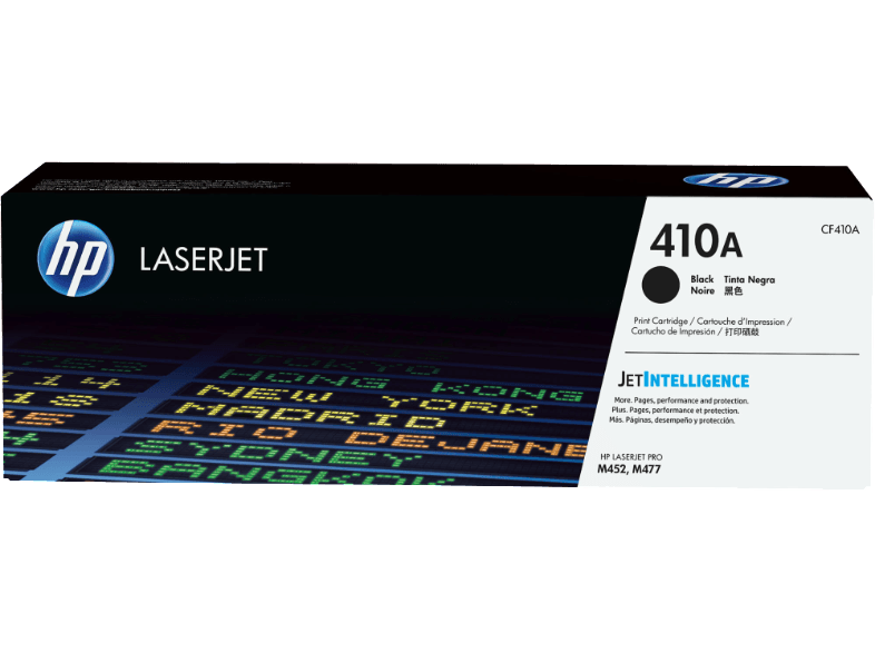 HP Toner Cartridge LaserJet 410A Black - (CF410A) μελάνια  toner