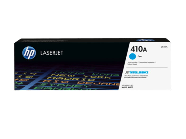 HP Toner Cartridge LaserJet 410A Cyan - (CF411A) μελάνια  toner