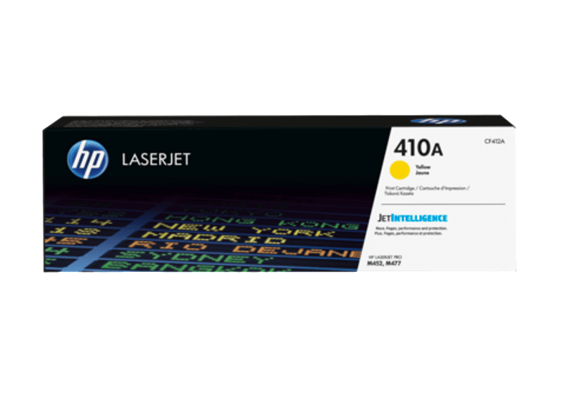 HP Toner Cartridge LaserJet 410A Yellow - (CF412A) μελάνια  toner