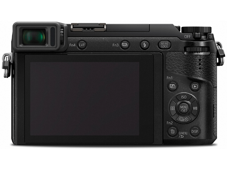 PANASONIC GX80 Kit με φακό 12-32mm Black - (DMC-GX80KEGK) mirrorless cameras