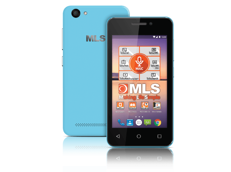 MLS Status 4G Blue DS android smartphone