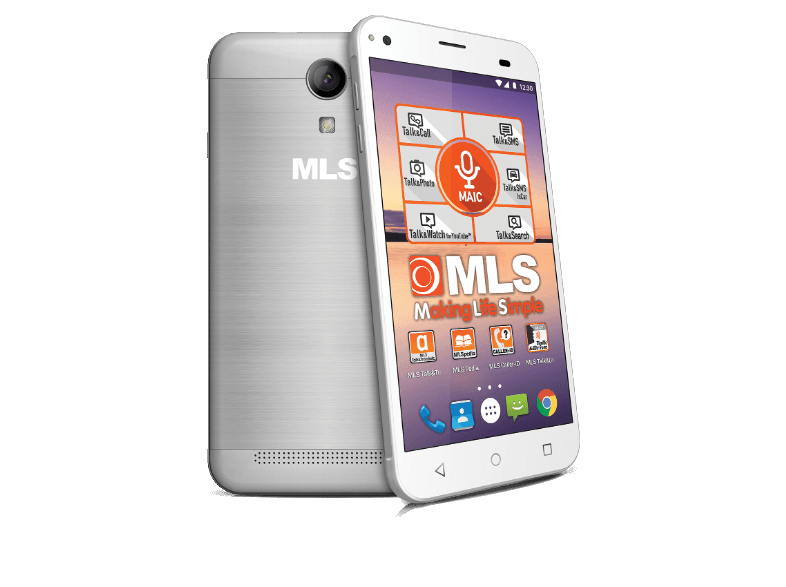 MLS Alu Silver DS - (33.ML.530.215) android smartphone