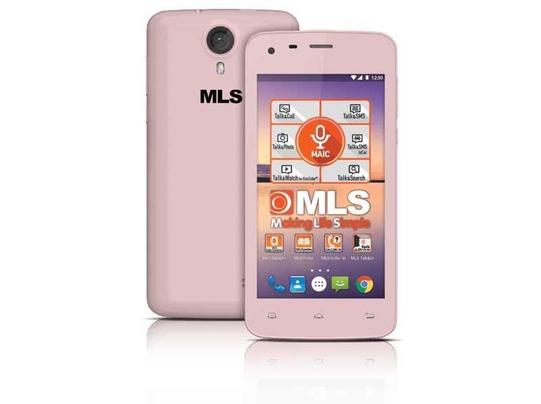 MLS Color mini 4G Pink DS - (33.ML.530.209) android smartphone