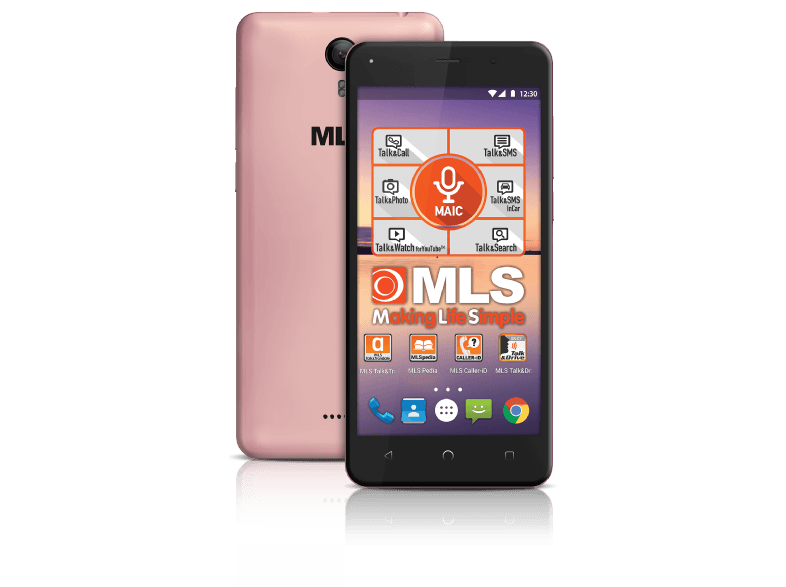 MLS Fresh 4G Pink (Exclusive) android smartphone