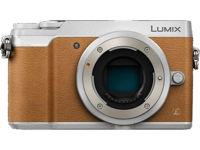 PANASONIC GX80 Body Brown - (DMC-GX80EG-T) mirrorless cameras
