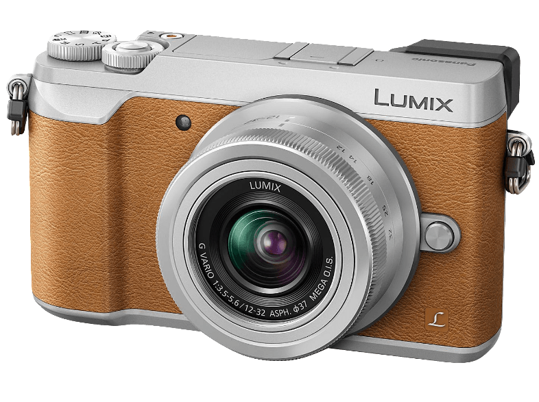 PANASONIC GX80 Kit με φακό 12-32mm Brown - (DMC-GX80KEGT)