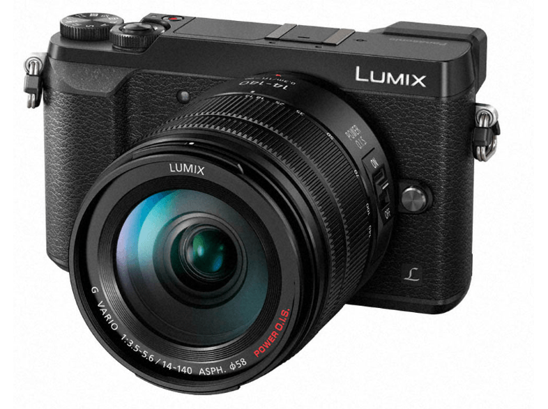 PANASONIC GX80 Kit με φακό 14-140mm Black - (DMC-GX80HEGK) mirrorless cameras