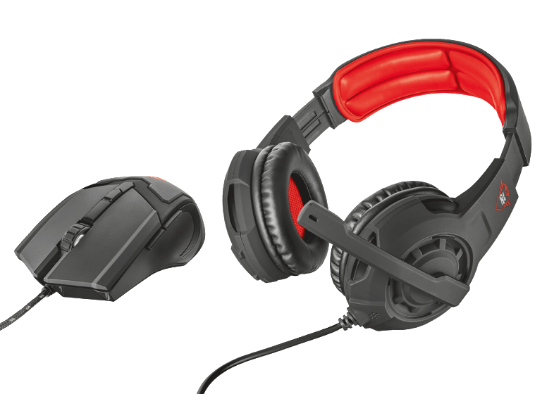 TRUST GXT 784 Gaming Headset & Mouse - (21472) headset