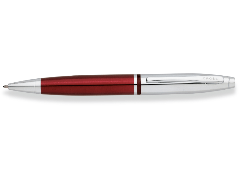CROSS Στυλό Ball-Point Chrome Red Lacquer Calais - (AT0112-8) είδη γραφής