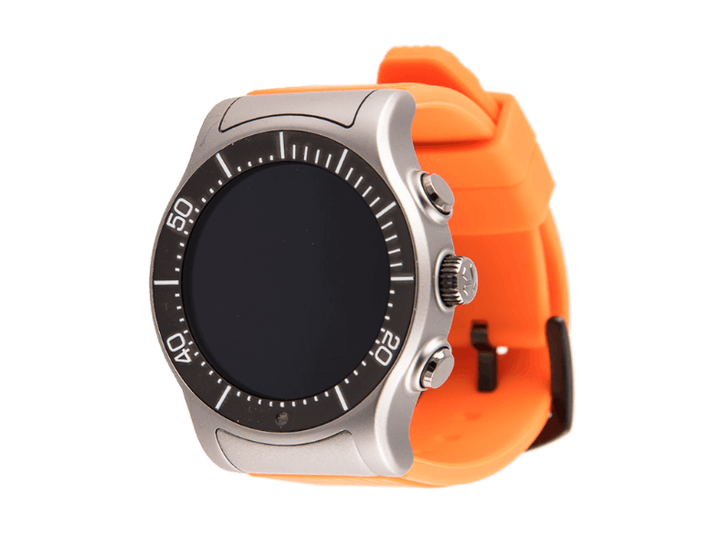 MYKRONOZ ZeSport Titanium/Orange smartwatches