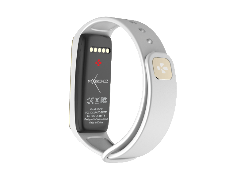 MYKRONOZ ZeFit 3 White/Silver activity trackers