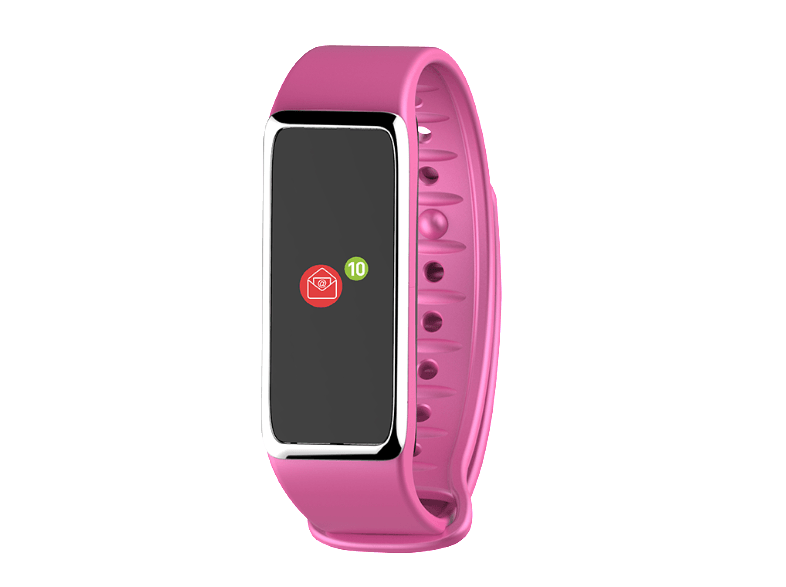 MYKRONOZ ZeFit 3 Pink/Silver activity trackers