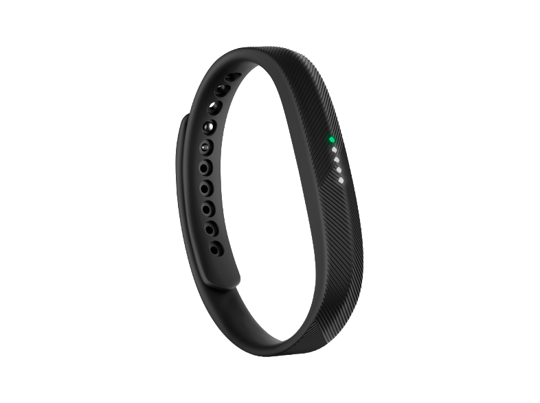 FITBIT Flex 2 EMEA Black - (FB403BK-EU) activity trackers