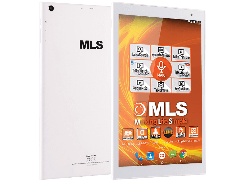 MLS Spin - Octa-Core 1.8 GHz / 16GB+16GB microSD / Wifi - (33.ML.540.150) android tablet